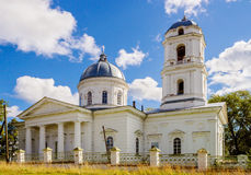 Church in pozhva Royalty Free Stock Images