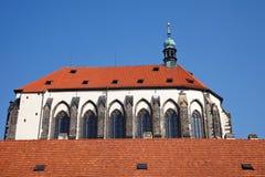 Church in Prague. Church of Our Lady in Prague, Czech Republic Stock Photos