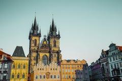 Church in Prague Stock Image