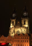 Church in Prague royalty free stock images