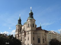 The church in Prague. Czech Republic Royalty Free Stock Images