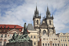 Church in prague Stock Images