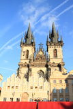 Church in Prague Royalty Free Stock Photo