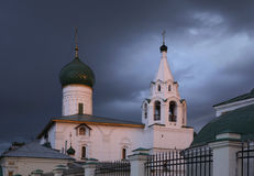 Church of Praise of Blessed Virgin Mary in Yaroslavl. Russia Royalty Free Stock Image