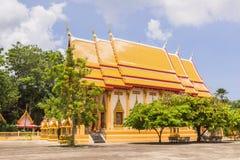 Church of Prathong temple or Pra-pood temple at Phuket, Thailand Stock Photos