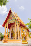 Church of Prathong temple or Pra-pood temple at Phuket, Thailand stock photography