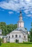 Church of the Presentation of the Lord of the Savior-Transfiguration parish in Veliky Ustyug. Church of the Presentation of the Lord of the Savior stock images