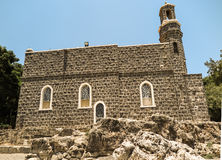Church of the Primacy of Peter, Tabgha Royalty Free Stock Image