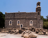 Church of the Primacy of Peter, Tabgha Royalty Free Stock Photo