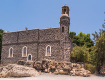 Church of the Primacy of Peter, Tabgha Royalty Free Stock Photography