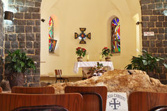 The Church of the Primacy - Tabgha Royalty Free Stock Photo