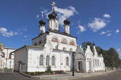 Church of Procopius Ustyuzhsky at the Cathedral courtyard in Veliky Ustyug Royalty Free Stock Photography