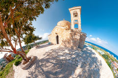 Church Profitis Ilias. Protaras Royalty Free Stock Photography