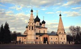 Church of Prophet Elijah, Yaroslavl Stock Images