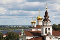 The Church of Prophet Iliya, Nizhny Novgorod Royalty Free Stock Photos