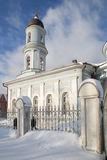 Church of the Protection of the Holy Virgin Stock Images