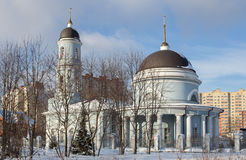 Church of the Protection of the Holy Virgin Stock Image