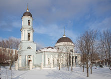 Church of the Protection of the Holy Virgin Stock Photography