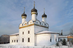 Church of the Protection of the Theotokos in Brattsevo (1672) Stock Photography