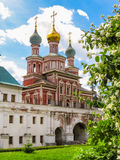Church of the Protection of the Theotokos, Novodevichy Convent, Moscow, Russia Royalty Free Stock Image