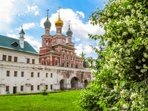 Church of the Protection of the Theotokos, Novodevichy Convent, Moscow, Russia Stock Images
