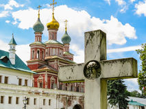 Church of the Protection of the Theotokos, Novodevichy Convent, Moscow, Russia Royalty Free Stock Photography