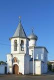 Church Protection of the Theotokos, Pskov Stock Image
