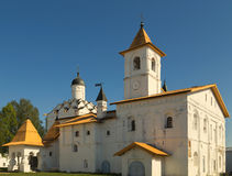 Church of the Protection of the Theotokos with refectory of Svir Stock Photography