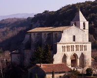 Church in Provence royalty free stock photo