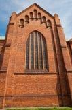 Church in Pruszkow - Poland. Gothic Church St kazimierz in Pruszkow - Poland stock photos
