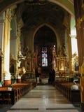 Church in Przemysl. Poland inside 2005 Stock Image