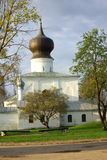 Church in Pskov, Russia Stock Images