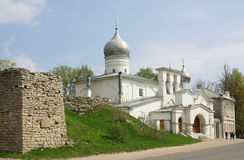 Church in Pskov, Russia Stock Image