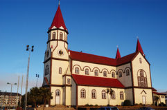 Church of Puerto Varas.Chile Royalty Free Stock Photography