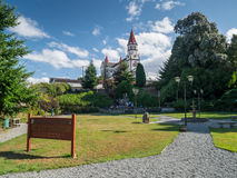 Church in Puerto Varas royalty free stock image