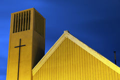 Church in Punta Arenas Stock Images