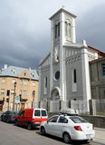 The church in Punta Arenas is a city in Chile. Royalty Free Stock Image