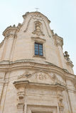 Church of Purgatory - Matera Italy Royalty Free Stock Photography