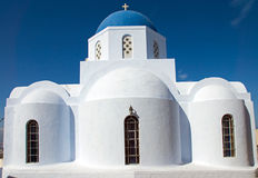 Church in Pyrgos Royalty Free Stock Photography