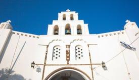 Church of Pyrgos Kallistis Stock Images