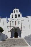 Church of Pyrgos Stock Photography