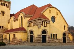 Church in Qingdao city,china Stock Images