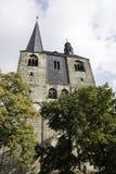 Church in  quedlinburg Stock Photos