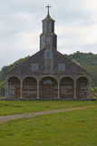 Church of Quinchao - Chiloe - Chile Royalty Free Stock Photos