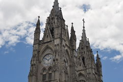 Church of Quito Royalty Free Stock Image