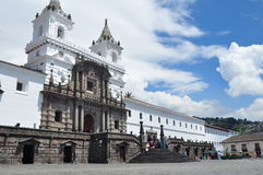 Church in Quito Royalty Free Stock Photo