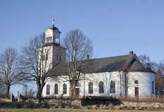 The Church at Rök, Sweden. The Church at Rök, Sweden. Located close to the ancient ruin of Alvastra Stock Image