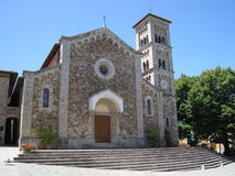 Church in Castellina, Tuscany, Italy Royalty Free Stock Photography