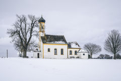 Church at Raiting Bavaria Germany Royalty Free Stock Images