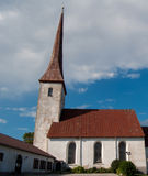 Church in rakvere Stock Photography